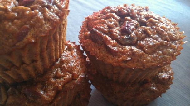 Grain free cranberry muffins, Muffins sin gluten, magdalenas sin gluten