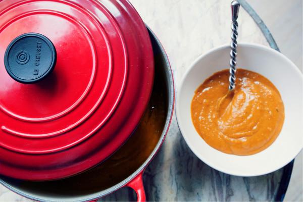 receta de crema de calabaza