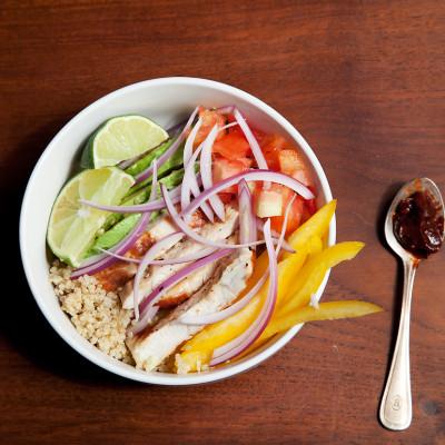 comida saludable, cena sana