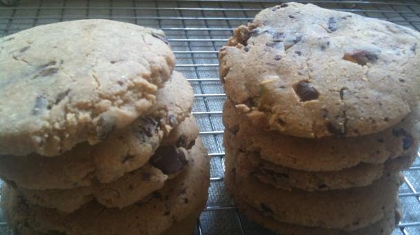 Cookies sin gluten, Galletas de chocolate sin gluten, galletas paleo