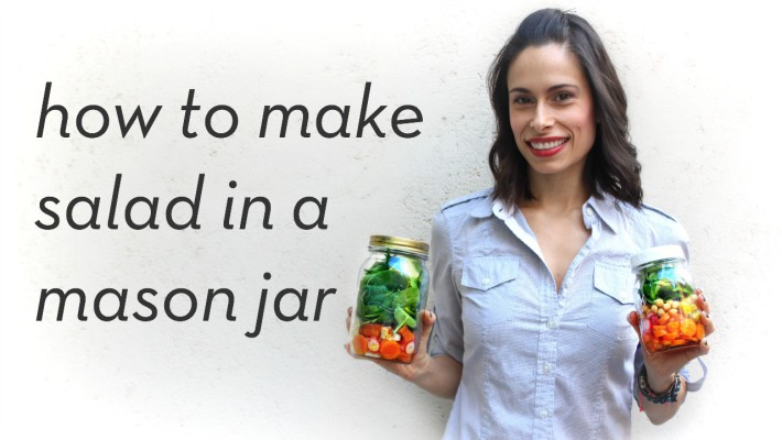 how to make salad in a mason jar, quick lunch ideas, lunch pack, salad for lunch, easy salad