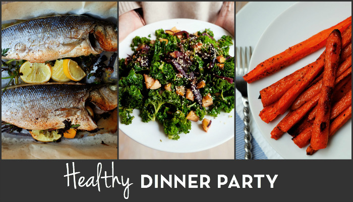 Healthy dinner party recipes