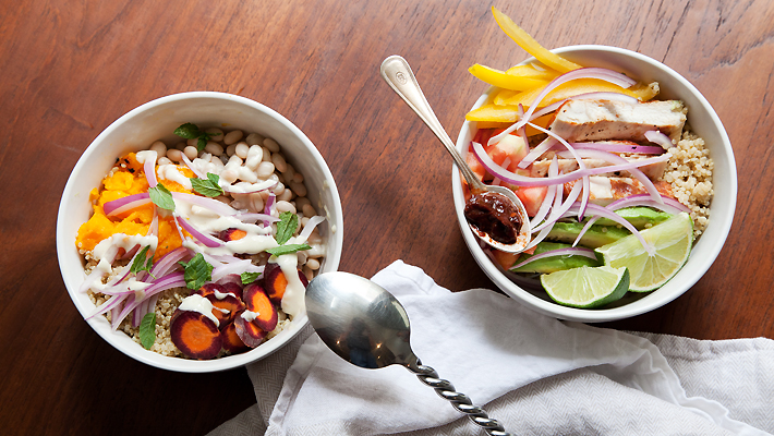 lunch bowls, lunch bowls recipe