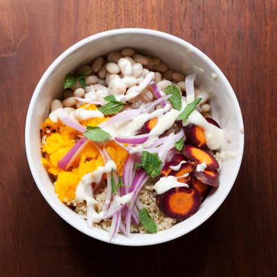Lemon Tahini bowl