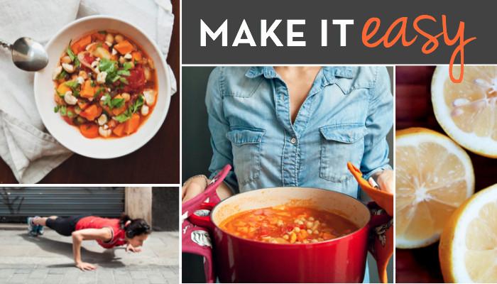 make healthy eating easy